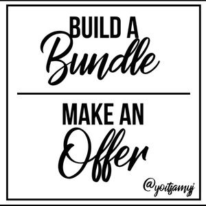 Love offers!!! 👏🏼👏🏼Bundle Saves Your Money 💰